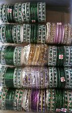 14 SETS NEW INDIAN BANGLES BRACLETS CHURI X 14 SETS**HOT SELLER *FREE POSTAGE UK