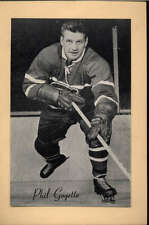 1944-63 BEEHIVE GROUP 2 PHOTOS   PHIL GOYETTE MONTREAL CANADIENS EX-MT F2536