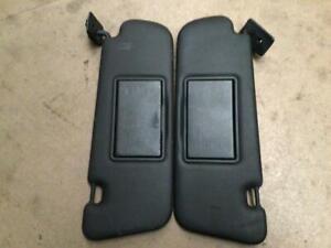 VE commodore SS SV6 Omega Calais vanity mirror sun visor pair black