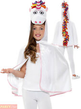 Girls Unicorn Cape Child Magical Fancy Dress Kids Mythical Creature Accessory