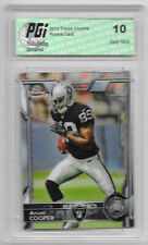 Amari Cooper 2015 Topps Chrome #115 Rookie Card PGI 10 Cowboys