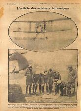 Aviator Royal Flying Corps Royal Air Force Biplan Aircraft La Somme 1916 WWI