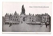 Belgique - cpa - BRUGES - BRUGGE - Standbeeld Breydel en Deconinck ( i 890)