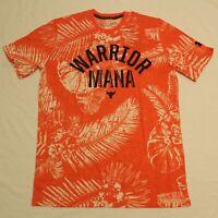 Under Armour Men's S/S Project Rock Aloha Camo T-Shirt SV3 Versa Red Medium NWT