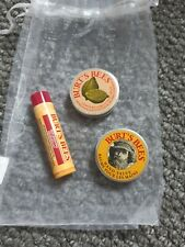 Burts Bees Replenishing Lip Balm, Hand Salve And Lemon Butter Cuticle Cream