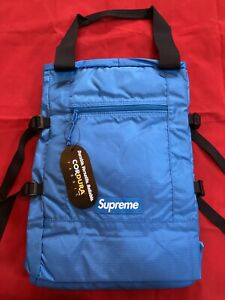 Supreme Cordura Tote Backpack Royal Blue Fast shipping in hand brand new