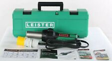 New  145.563 Leister Electron ST Hot Air Blower Tool with UK Plug & Case