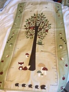 Homemade Height Chart Woodland Animals And Birds