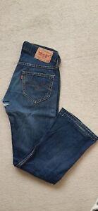 Levis Jeans 907 32 34 dunkelblau