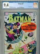 1967 DC BATMAN #190 CLASSIC PENGUIN 2ND SA APPEARANCE CGC 9.4 WHITE BOX5