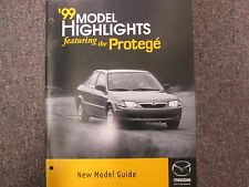 1999 Mazda Protege Model Highlights Information Facts Manual FACTORY OEM BOOK 99