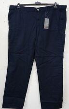 NEU große Größe Übergröße bequeme Herren Komfortbund Hose in dunkel blau  Gr.60