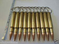 "Lot of 10 pcs 3.25"" Bullet Key Chain / 30-06 SPRG / New"
