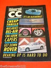CUSTOM CAR - MASARATI BEL-AIR - JAN 1987