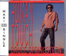 """MAXI CD BRUCE SPRINGSTEEN """" HUMAN TOUCH """" 3T DE 1992 ETAT NEUF"""