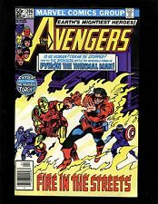 Avengers #206 (News) FNVF Colan Scarlet Witch Iron Man Capt America Human Torch