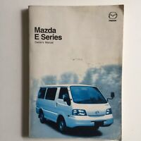 Mazda E Series Owners Manual PB 2002
