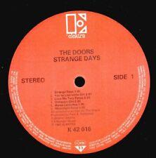 The Doors(Vinyl LP)Strange Days-Elektra-K42016-1967--VG/Ex-