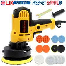 "16pcs 5 Speed Car Polisher Kit Rotary Buffer Sander Machine 5"" Polishing Pads UK"