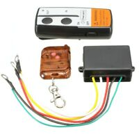 Electric Wireless Winch Remote Control Handset 12V Heavy Duty For Truck Atv W8C7