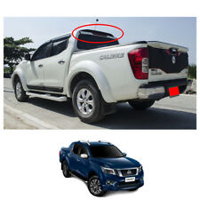 Rear Roof Spoiler Matte Black Trim 1 Pc For Nissan Np300 Navara D23 2015 - 2017