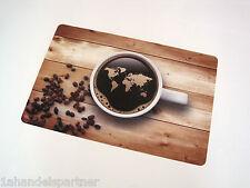 4x Tischset Kaffeetasse Platzdeckchen TISCH SET PLATZ SET UNTERLAGE PLATZMATTEN