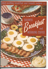 NICE 1955 BREAKFAST Cookbook 262 Recipes Paperback Culinary Art Institute # 107