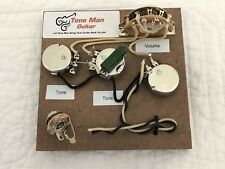 Prewired Deluxe Wiring Kit For Fender Stratocaster PIO Tone Cap 5 Way Switch