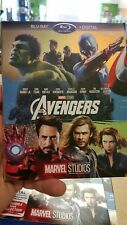Marvel The Avengers (Blu-Ray, 2017) Phase One Art Disney