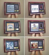 THE BEATLES 6 x FRAMED 35MM FILM CELLS - ALL THE FILMS