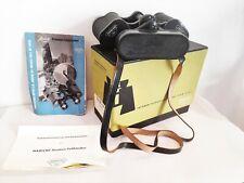 Vintage Swarovski-Optik Habicht 8 x 30 M-DV Binoculars in orig. Box with Papers