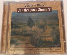 CD Music Classic Violin y Piano Musica para Siempre Jean Grazi Ada Lia Rapp