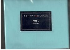 Tommy Hilfiger Trina Turquoise Aqua  Full Bed Skirt New 1st Quality