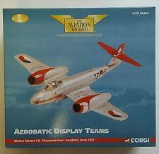 Corgi Aviation Aerobatic Team Gloster Meteor F.8 'Diamonds Four' AA35006 BNIB