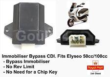 Immobiliser Bypass CDI Fits Peugeot Elyseo 50cc 100cc Chip Key  ACI100 ACI100.01