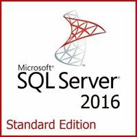 SQL Server 2016 Standard Product Key License Download 30 SECs DELIVERY