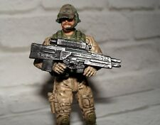 """1:18 BBI Elite Force XM-29 SABR OICW Combat Weapon Military for 3 3/4"""" Figures"""
