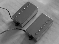 New custom humbucking pickups for electric guitar nickel covers by Pete Biltoft