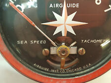 Airguide Sea Speed Marine Boat dash 7,000 RPM Tachometer Vintage P6487 Gauge