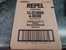 Repel Permanone/ permethrin Tick Clothing & Gear insect repellant 6 .5 oz.