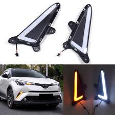 Switchback Lighting Style LED Daytime DRL Lights For Toyota C-HR CHR 2018-2019