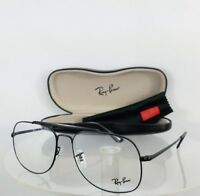 Brand New Authentic Ray Ban RB 6389 Eyeglasses RB6389 2509 Black Frame