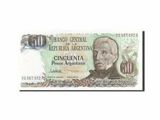 [#262414] Argentina, 50 Pesos Argentinos, 1983-1985, KM:314a, Undated, FDS