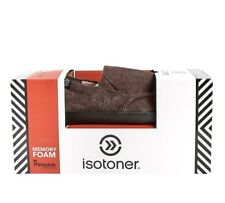 ISOTONER Memory Foam 3M Thinsulate Brown , Men's Casual Slipper Shoes