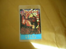 Ozzfest Backstage Pass Laminate 2002 Local
