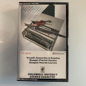 Vivaldi Concertos & Sonatas Honge Veyron Lacroix (Cassette)