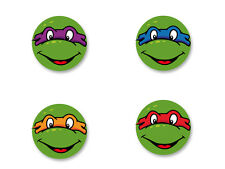 Lot Pack Badge Button Ø25mm Les Tortues Ninja TMNT Ninja Turtles