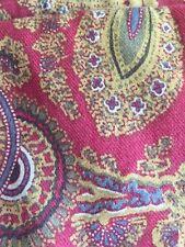 Vintage Lauren Comforter Edmonton Comforter Paisley Red Gold PreOwned