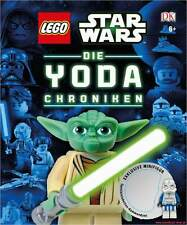 Fachbuch LEGO® Star Wars™, Die Yoda-Chroniken, mit exklusiver Minifigur, NEU