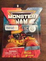 Spin Master Monster Jam Mohawk Warrior Fire & Ice Walmart Special Edition RARE